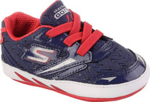 Skechers Boy's Go Run 4 Crawl Slip On Trainers 1 Infant Blue
