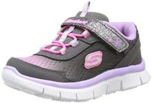 Skechers Infant/Toddler Girls' Skech Appeal,Purple/Multi,US 5 M