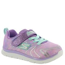 Skechers Skech Lite Girls' Infant-Toddler Sneaker 6 M US Toddler Lavender-Multi