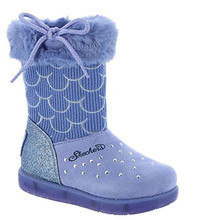 Skechers Glitzy Glam-Mermaid Dazzle Girls' Infant-Toddler Boot 7 M US Toddler Periwinkle