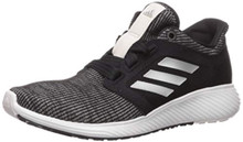 adidas Women's Edge Lux 3 Running Shoe, Black/Silver metallic/orchid tint, 11 M US