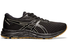 ASICS Men's Gel-Excite 6 Winterized Running Shoes, 8M, Black/Putty