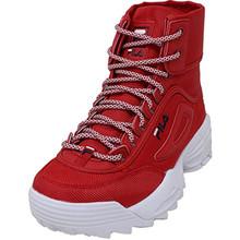 Fila Disruptor Ballistic Boot (8.5, Red/White Ballistic)