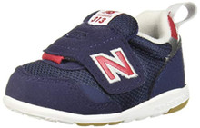 New Balance Boys' 313v1 Running Shoe, Navy/RED, 5 W US Toddler