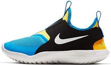Nike Kids' Preschool Flex Runner Running Shoes (2, Black/Yellow/Royal)