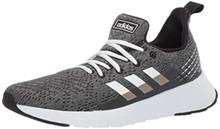 adidas Men's ASWEEGO, White/White/Black, 10.5 M US