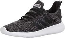 adidas Men's Lite Racer BYD Running Shoe, black/white/black, 8.5 M US