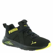 PUMA Unisex Enzo Slip On Sneaker, Black-Meadowlark, 1 M US Little Kid