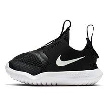 Nike Flex Runner (td) Toddler At4665-001 Size 3 Black/White