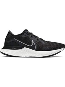 MEN'S NIKE RENEW RUN RUNNING SHOES, Black/Silver, 10