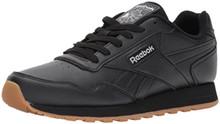 Reebok Classic Harman Run Sneaker, black/gum, 11.5 M US