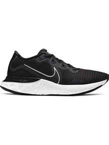 MEN'S NIKE RENEW RUN RUNNING SHOES, Black/Silver, 10.5