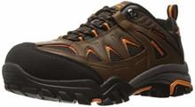 Skechers for Work Men's Delleker Work Boot, Brown/Orange