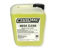 Chrome Mega Clean Polish 5 Litre Container