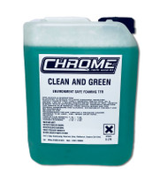 Chrome Clean and Green 5 Litre Container
