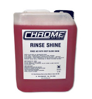 Chrome Rinse shine 5 Litre Container