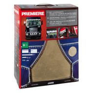 Lampa Premier Truck Curtain Set Beige/White