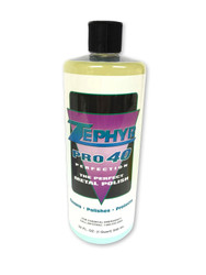 Zephyr Pro-40 Metal Polish Large 946ml Bottle