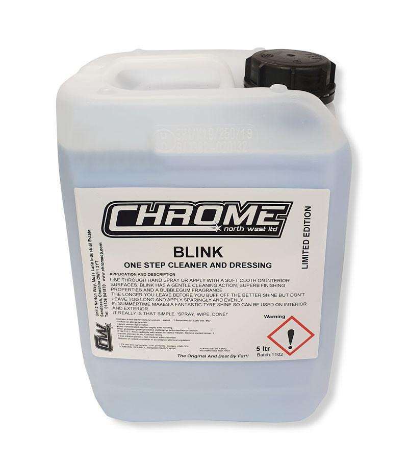 Chrome BLINK Polish 5 Litre Container