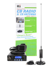 TTI 550N CB Radio with Mag mount Starter Kit