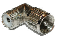 PL259 L shape Connector for use with CB and Ham Radio
