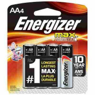Energizer Max AA - 4 Pack - 039800011329