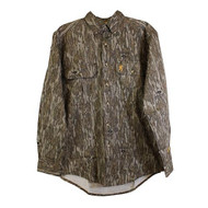 Browning Wasatch Camo Button-Up L/S Shirt - Mossy Oak Bottomland - 023614935001