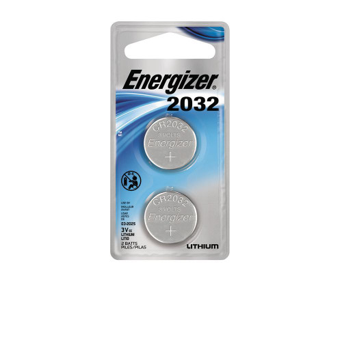 Energizer 2032 Battery - 2 Pack - 039800066114