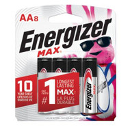 Energizer MAX AA - 8 Pack - 039800107978
