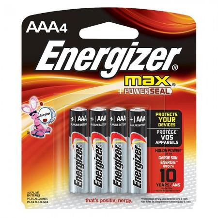 Energizer MAX AAA - 4 Pack - 039800099099