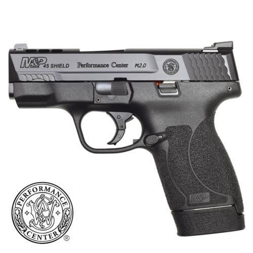 Smith & Wesson M&P 45 Shield M2.0 Performance Center Ported - 45 ACP - Night Sights - Black - 7 Round - 022188877717