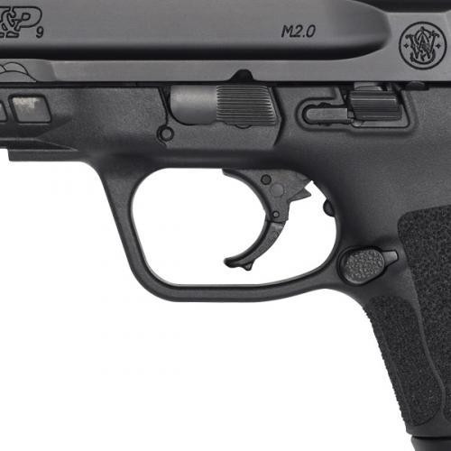 Smith & Wesson M&P 9 M2.0 Compact - Thumb Safety - Black - 12 Round - 022188878387