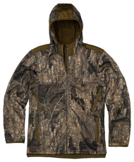 Browning Men's High Pile Hooded Camo Jacket - Realtree Timber - 023614949039