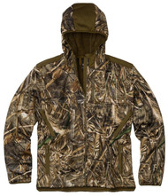 Browning Men's High Pile Hooded Camo Jacket - Realtree Max-5 - 023614949084