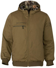 Browning Men's Contact-VS Reversible Camo-to-Brown Insulated Jacket - Realtree Edge - 023614933113