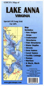GMCO Lake Anna Map - 794492109234