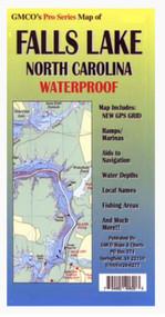 GMCO Falls Lake Pro Series Map - 794492406203
