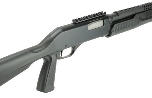 "Savage Stevens 320 Security 12 Gauge - 3"" Chamber - 18.5"" Barrel with Heat Shield - Pistol Grip - Black - 011356194961"