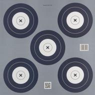 5 Spot Paper Target - 147164810141