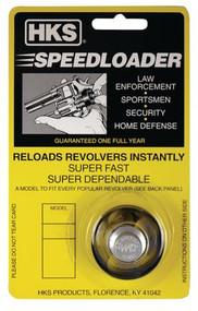 HKS 586-A Speedloader - 38 Spl / 357 Mag - 6 Shot - 088652005864