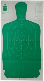Champion LE B27 Green Silhouette Target - 10 Pack - 076683407351
