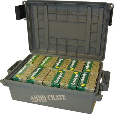 MTM Case-Gard Ammo Crate / Utility Box (ACR4) - Army Green - 026057362540