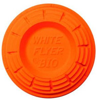 White Flyer Orange Top Targets - 135 Targets - 042859111018
