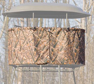 Family Traditions Treestands Camo Skirt - Double Tripod - 400001302606