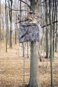 Family Traditions Treestands Camo Skirt - DD14 Ladder Stands - 400001331200