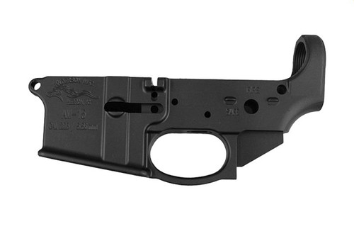 Anderson Manufacturing AR-15 A3 Closed Trigger Stripped Lower Receiver - 820103629225