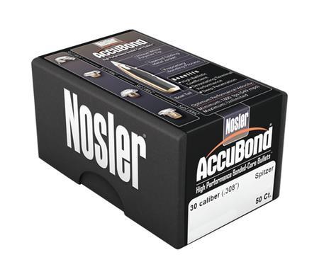 Nosler AccuBond Bullets - 30 Cal -  308