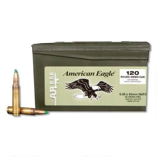 Federal American Eagle XM855 5.56x45mm NATO 120 Rounds - 029465065102