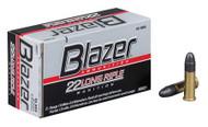 CCI Blazer 22 LR - 40 Grain LRN - 50 Rounds - 076683000217