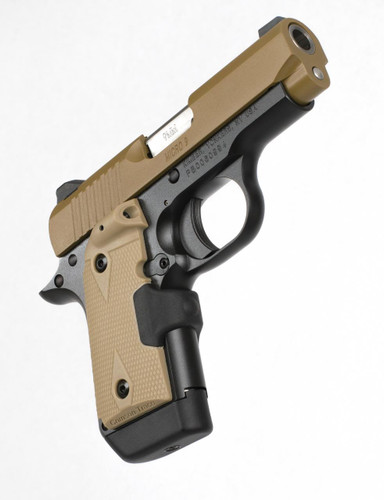 Kimber Micro 9 Desert Tan (LG) 9mm - Laser Grip - 6 Round